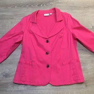 Denim & Company Mid Sleeve Jacket